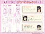Kimiko, Kyouko and Akiyo Classmate Introduction
