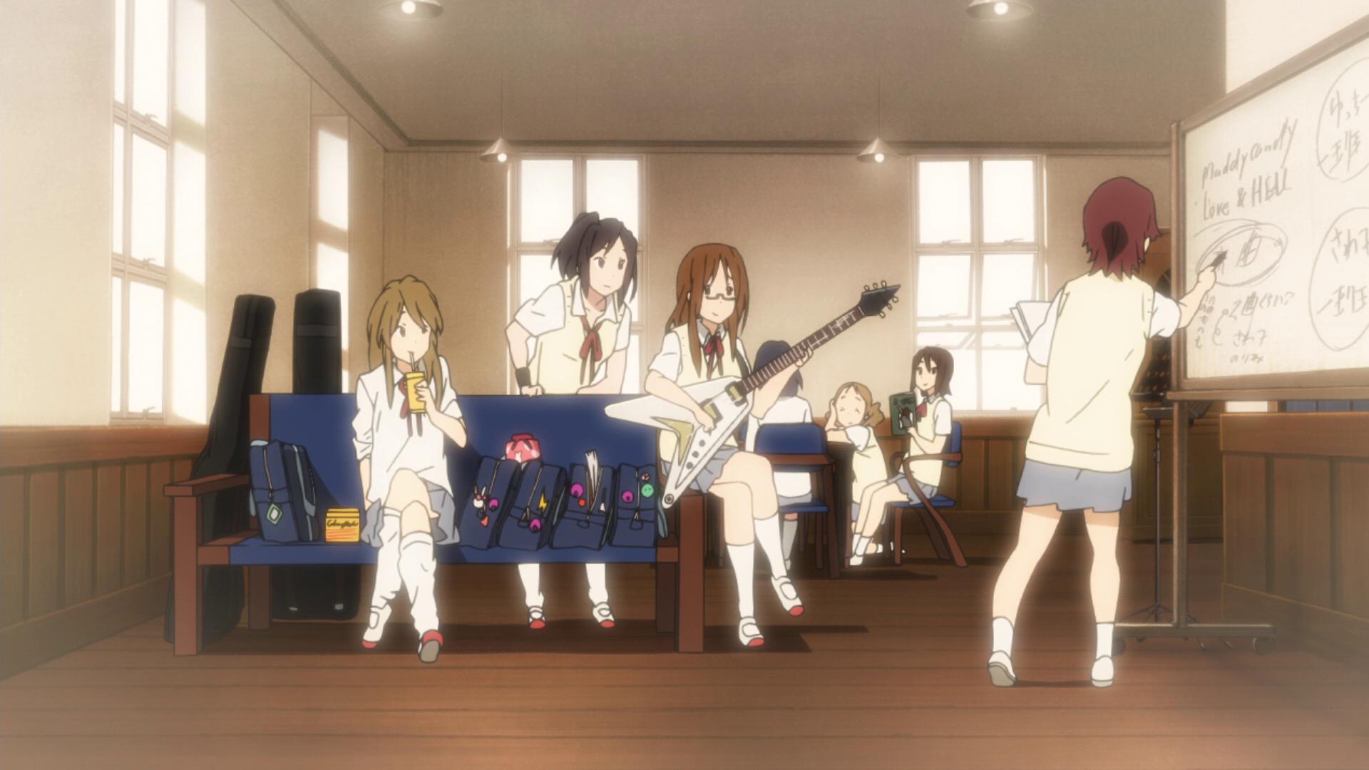 K On Light Music Club Room