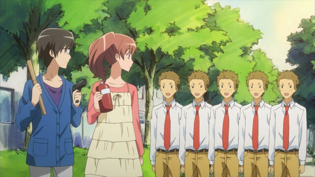 File:Yumeyama brothers, shizuko and sakura.jpg