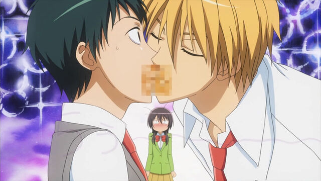 File:Takumi kissing shouichirou.jpg