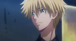 Takumi's discret smile