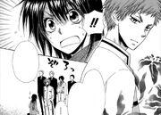 Tora bumping into Misaki