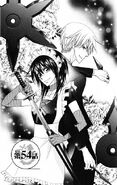 Misaki and usui in the manga