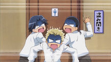 Revolted moron trio
