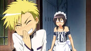 Igarashi laughs at Misaki