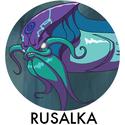Aqua Chaser, Rusalka (Character)