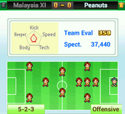 Opposing Team Info - Pocket League Story