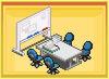 Meeting room - anime studio story