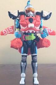 Kamen Rider Brave Combat Quest Gamer Level 3