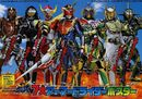 Seven Gaim Riders