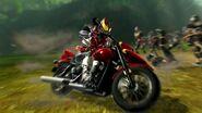 Kiva riding Kivaa