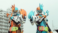 We're Kamen Riders