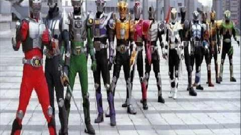 Kamen Rider Dragon Knight All Riders