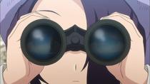 Akari spying
