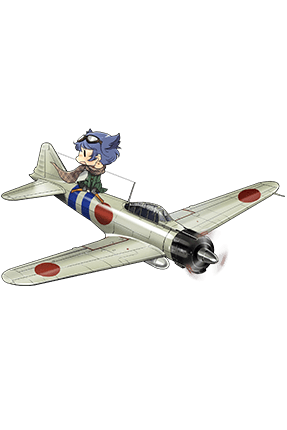 Type 0 Fighter Model 21 020 Full