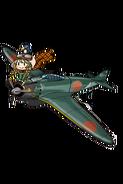 Type 0 Fighter Model 52 021 Full old