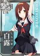 DD Shiratsuyu 042 Card