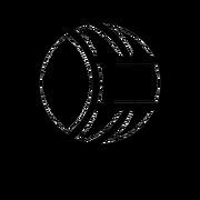 Disteam Idle Air Force Emblem 9x9