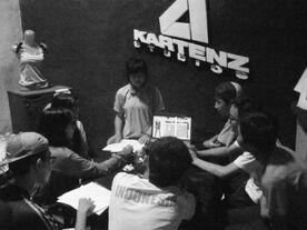 Kartenz Studios History BW