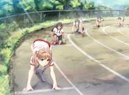 Emi's track meet first sprint