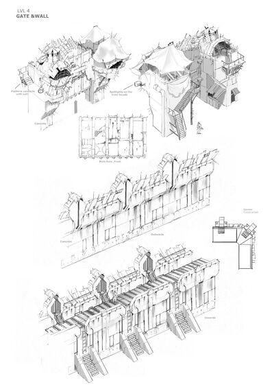Lvl4 Wall & Gate