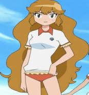 Rei looks pretty tough