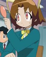 Yamato brushing her ears