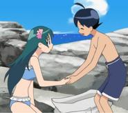 Fuyuki and Nontruma Girl