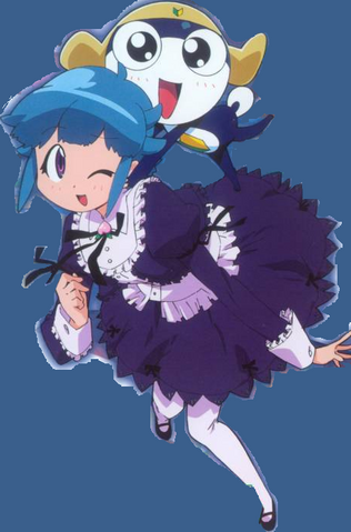 File:Tamama and Momoka in a maid dresss.png