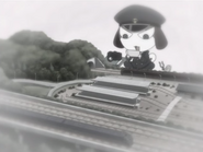 Chibi Giro with his train