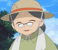Akina smiling