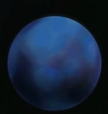 Pluto as it appears in the anime