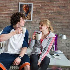 Dave & Mindy take a break