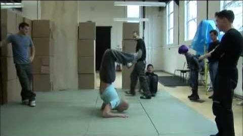 Chloë Grace Moretz Stunt Training