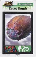 Resetbombarcard