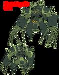 Uzu Sanageyama body (Blade Regalia)