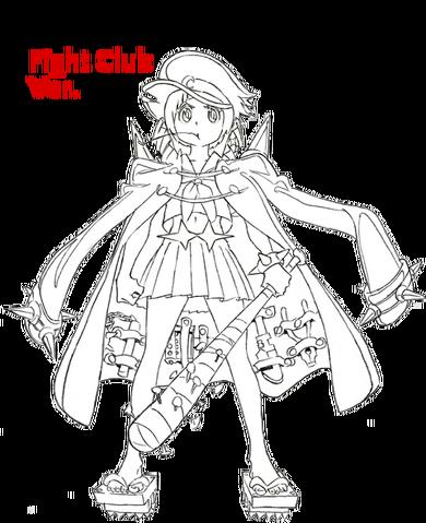 File:Mako Mankanshoku body (Fight Club uniform sketch).png