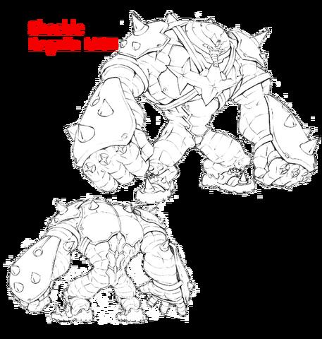 File:Ira Gamagōri body (Shackle Regalia MKII sketch).png