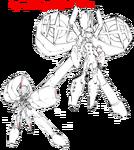 Nonon Jakuzure body (Symphony Regalia MKII sketch)
