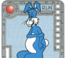 Blue Super Lumbering Bunny
