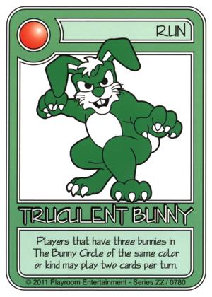 0780 Green Truculent Bunny-thumbnail