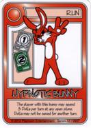Red Hypnotic Bunny