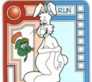 Red/Blue Lumbering Bunny