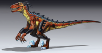 Killer Instinct Season 2 - Riptor Concept Art