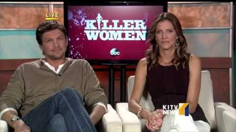 "Live interview with the stars of ""Killer Women."""