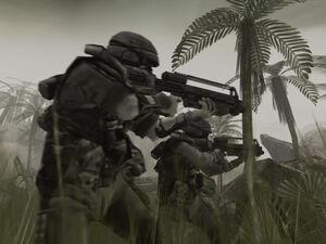 Killzone 1 helghast jungle