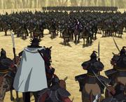 Ou Sen And Kyou En Confront anime S2