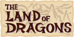 The Land of Dragons Logo KHII