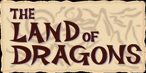 The Land of Dragons Logo KHII