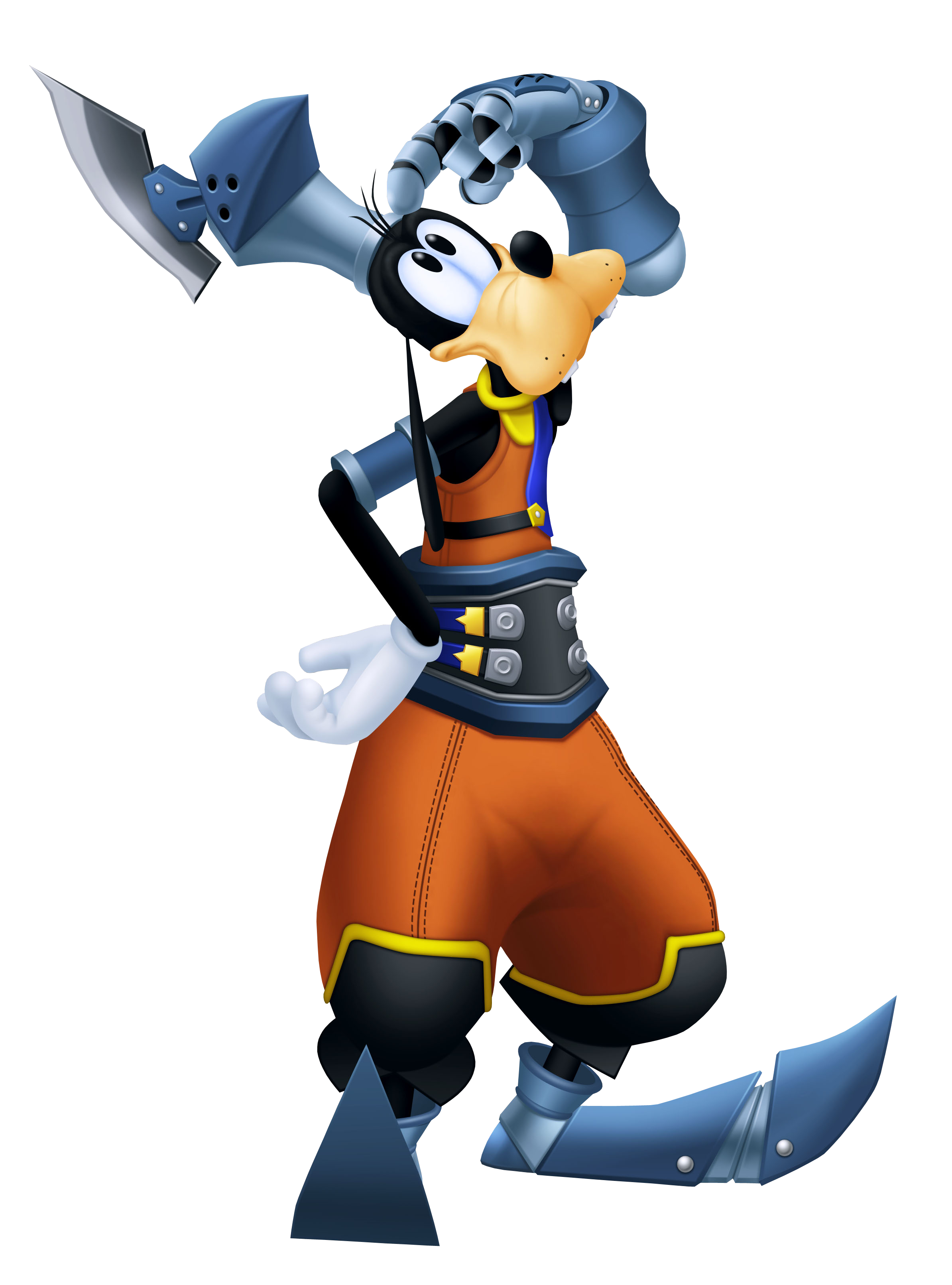 Mickey Donald Goofy Kingdom Hearts